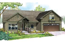 craftsman house plan front elevation luxihome