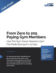 training facility business plan business plan cmerge