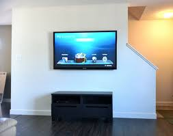 Flat Screen Tv Wall Cabinet With Doors At Glance Wall Mounting A Flat Screen Tv Seemed Like A