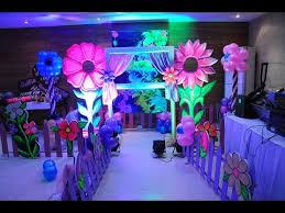 theme decor birthday party organiser balloon floral theme decor