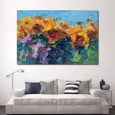 Living Room Paintings Compare Prices On Sunflower Framed Art Online Shopping Buy Low