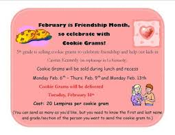 cookie gram cookie grams elementary character education