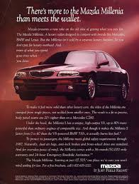 mazda is made by forgotten cars the mazda millenia and mazda u0027s other other engine