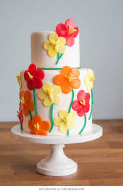 Flower Cakes Candy Flower Cake