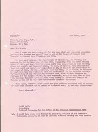 thanksgiving letter for hospitality the ncropa archive 1982