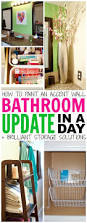 Bathroom Update Ideas by The 25 Best Easy Bathroom Updates Ideas On Pinterest Bathroom