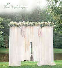 wedding backdrop 5 diy wedding ceremony backdrop ideas that wow