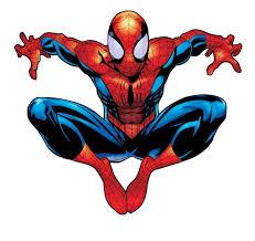 clipart spiderman