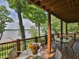 rustic luxury log home on the lake cedar homeaway cedar lake