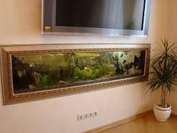 in wall aquarium designs modern wall mounted aquarium design with