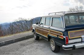 jeep blue interior blue 1987 jeep grand wagoneer with tan interior