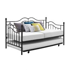 bedroom metal daybed with trundle ideas 41741922201724 metal
