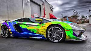 Lamborghini Veneno Galaxy - luxury cars 2015 2016 lamborghini aventador rainbow youtube