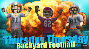 thursday throwback backyard football youtube