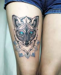 39 best tribal thigh tattoos images on pinterest thigh tattoos