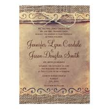 burlap wedding invitations rustic country vintage burlap wedding invitations zazzle