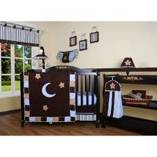 Moon And Stars Crib Bedding Geenny Decorating Kids Rooms