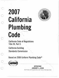 californi plumbing code title24 part05 building code wellness