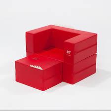 design skin kids transformable cake sofa red toys