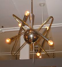 Atomic Chandelier Laurie Gorelick Interiors Blog Feelin U0027 Groovy