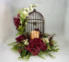 Burgundy Wedding Centerpieces by Best 25 Birdcage Centerpiece Wedding Ideas Only On Pinterest