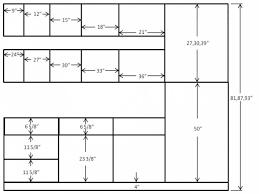 kitchen cabinet widths standard kitchen cabinets dimensions