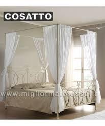 letto baldacchino letto a baldacchino matrimoniale cosatto classico prezzo in offerta