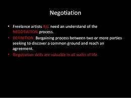 Seeking Text Negotiator Industry Negotiation
