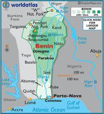 togo location on world map benin map geography of benin map of benin worldatlas