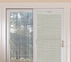Patio Doors With Blinds Inside Blinds Between The Glass Patio Doors Exterior Home For Sliding
