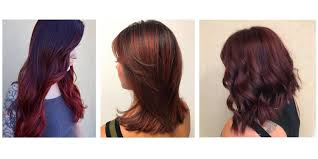 burgundy hair color formula image collections hair color ideas