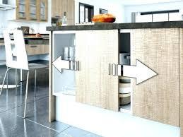 cuisine avec porte coulissante porte coulissante cuisine meuble bas de cuisine avec porte