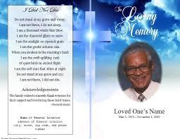 memorial booklet memorial booklet template free templates resume exles