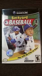 backyard baseball missing manual nintendo gamecube wii
