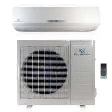ductless mini split air conditioner kaussmann 20 seer 18000 btu ductless ac unit