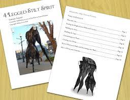 spirit halloween sale 4 legged stilt costume tutorial on sale by mel2daissa on deviantart