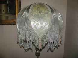 victorian l shades with beaded victorian french x large floor table l shade rosalee beads fringe