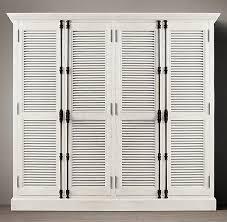 Shutter Doors For Closet Diy Shutter Door Wardrobe India Pied à Terre Idea Restoration
