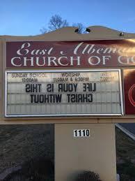 Church Sign Meme - creative church signs howbow dah abc13 com
