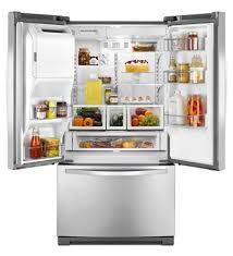 Whirlpool Inch French Door Refrigerator - whirlpool 36 inch wide french door refrigerator with microedge r