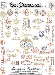 Create Monogram Initials Prep Avenue How To Make Monogrammed Stickers This Has Helped Me