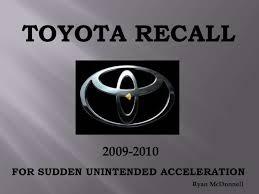 toyota car recall crisis toyota recall