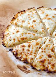cauliflower pizza crust recipe ifoodreal