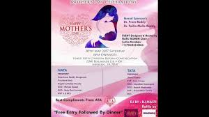 mother u0027sday event organized by nata and tata youtube