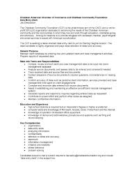 Data Entry Clerk Job Description For Resume by The Chaldean American Chamber Of Commerce And Chaldean Community