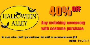 Kids Halloween Costumes Halloween Alley Halloween Alley Costumes Coupons