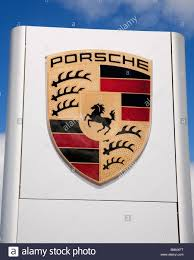 porsche dealership a porsche dealership sign stock photo royalty free image