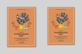 thanksgiving flyer template printable thanksgiving day