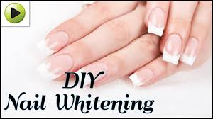 how to whiten your nails naturally youtube