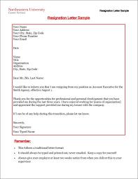 two week resignation letter sample two week resignation letter